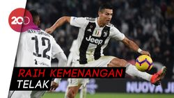 Juventus Gilas Cagliari, Cristiano Ronaldo Hat-trick