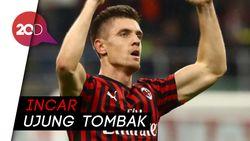 Aston Villa Ingin Angkut Piatek dari AC Milan?