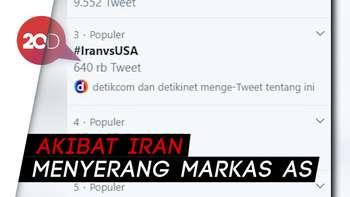 #IranvsUSA Jadi Trending Topic di Twitter