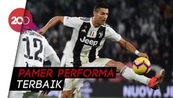 Lutut Sudah Oke, Ronaldo Gaspol