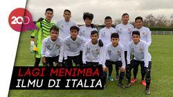 Garuda Select Menang Telak 3-0 Hadapi Torino U-17