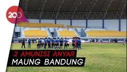 2 Wajah Baru Merumput di Latihan Perdana Persib Bandung