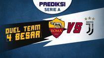 PSSI: Duel antara AS Roma dan Juventus. Siapa Menang?
