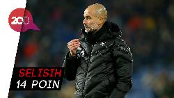 City Nyerah Kejar Liverpool, Guardiola: Lupakan Saja