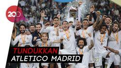 Los Blancos Juara Piala Super Spanyol via Adu Penalti