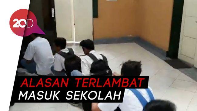 Pol PP Probolinggo Jaring 20 Siswa Bolos Sekolah