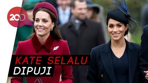 Beda Pemberitaan Media Inggris kepada Kate Middleton-Meghan Markle