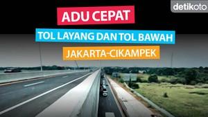 Perbandingan Waktu Melewati Tol Jakarta-Cikampek