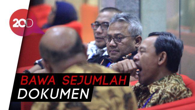 KPU Ikuti Sidang DKPP Wahyu Setiawan di KPK Bahas Rekomendasi PDIP