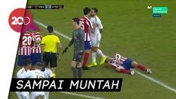 Malangnya Morata: Ditekel Valverde, Kepala Terinjak Carvajal