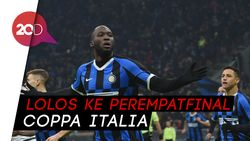 Video Gol Kilat Lukaku Bantu Inter Tekuk Cagliari 4-1