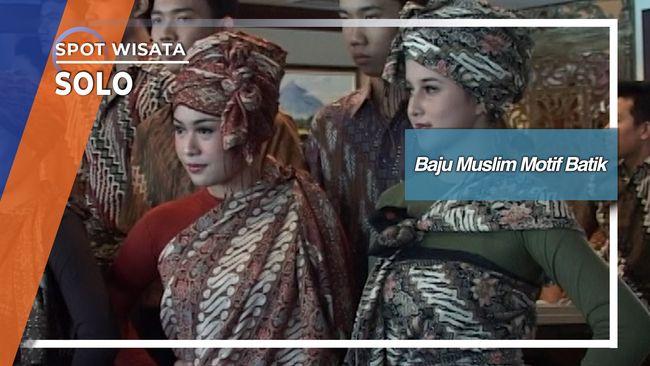 Baju Muslim Motif Batik, Solo