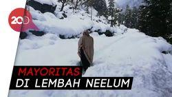 Longsor Salju di Kashmir, 100 Orang Tewas