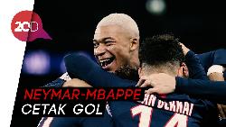 PSG Hancurkan Tuan Rumah Monaco 4-1