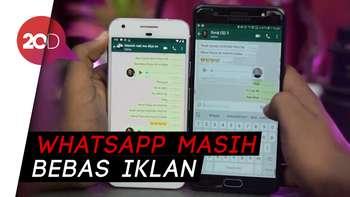 Iklan di WhatsApp Bakal Dibatalkan