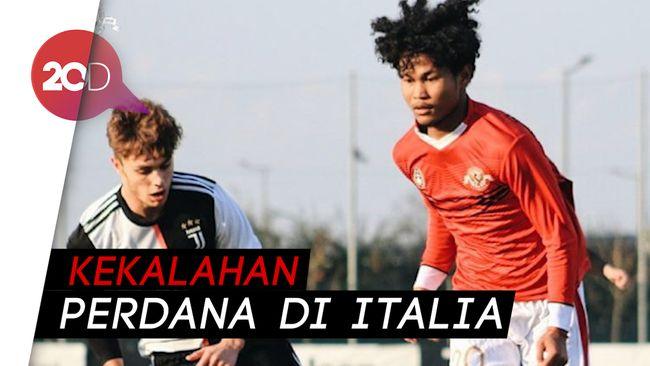 Telan Pil Pahit, Garuda Select Kalah 1-2 dari Juventus U-17
