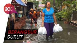 Banjir di Kebayoran Baru Sempat Mencapai 70 Cm