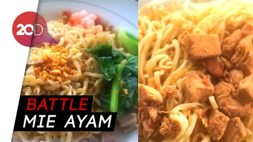 Mie Ayam Mahal vs Mie Ayam Murah, Enakan Mana?