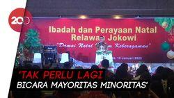 Perayaan Natal Relawan Jokowi, Moeldoko Singgung Mayoritas-minoritas