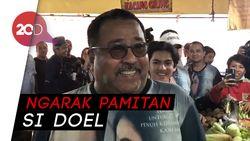 Blusukan ke Pasar, Si Doel Rano Karno Pamitan