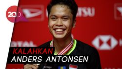 Anthony Juara, Indonesia 3 Gelar di Indonesia Masters