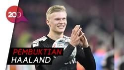 Hattrick Haaland di Laga Debut Bersama Dortmund