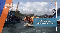 Tradisi Petik Laut Pantai Sendang Biru Malang Jawa Timur
