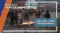 Tradisi Perang Petasan Antar Kampung Tangerang Selatan