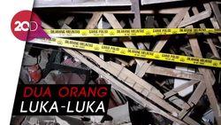 Rumah Warga di Cimahi Hancur Akibat Tabung Gas Meledak
