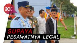 Agar Lebih Berkembang, Chaerul Bakal Dibina TNI AU di FASI