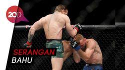 Cuma 40 Detik, McGregor Menang TKO atas Cerrone