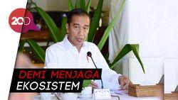 Jokowi Ingin Bersih-bersih Darat dan Laut Labuan Bajo
