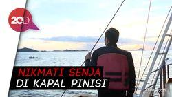 Kunker ke Labuan Bajo, Jokowi Cek Kelaikan Kapal Pinisi
