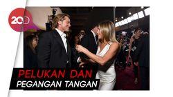 Manisnya Pertemuan Brad Pitt dan Jennifer Aniston di SAG Awards