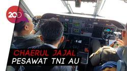 Terbang dan Duduk di Kokpit CN 295, Chaerul ke Pilot: Gasnya Mana?