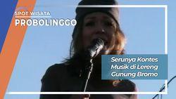 Kontes Musik di Lereng Gunung Bromo, Probolinggo