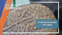 Kesenian Ukir Batu, Surabaya