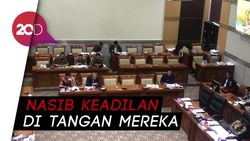 Komisi III DPR Gelar Fit and Proper Test Calon Hakim Agung MA