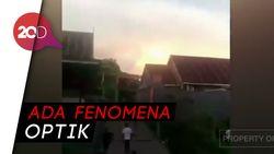 Heboh Sinar Matahari Kembar Muncul di Makassar, Apa Kata BMKG?