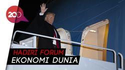 Jelang Sidang Pemakzulan, Trump Malah Terbang ke Swiss