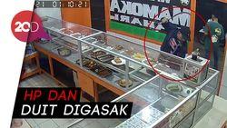 Lagi Makan di Warteg, Pembeli Ditodong Celurit oleh Perampok