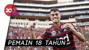 Real Madrid Resmi Angkut Renier dari Flamengo