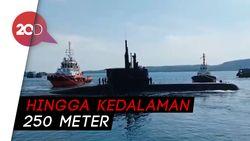 Top! Kapal Selam Pertama Indonesia Lulus Tes Nominal Diving Depth