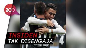 Waduh, Ronaldo dan Dybala Kedapatan Ciuman