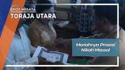 Prosesi Nikah Massal, Toraja Utara