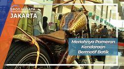 Pameran Kendaraan Bermotif Batik di Jakarta