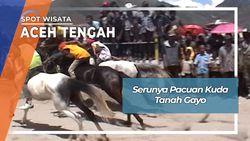 Pacuan Kuda Tanah Gayo, Aceh Tengah
