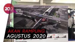 Anies Resmikan Pembangunan Sky Bridge MRT ASEAN - Halte CSW