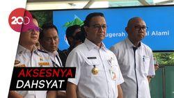 Anies Ingin Integrasikan KRL-TransJ di Kebayoran