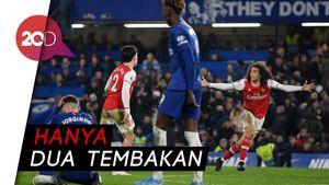 Arsenal Luar Biasa! 10 Pemainnya Meredam Gempuran Chelsea